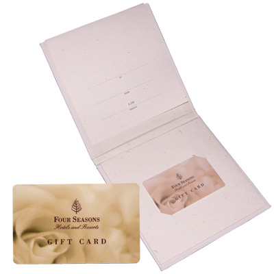 FOUR SEASONS<sup>®</sup> $250 Gift Card - Relax in luxury at any Four Seasons hotel or resort in extraordinary destinations around the world with this $250 gift card. Can be used for accommodations, and much more, including spa services, dining or golf, tennis and other leisure activities at any facility managed by Four Seasons.
